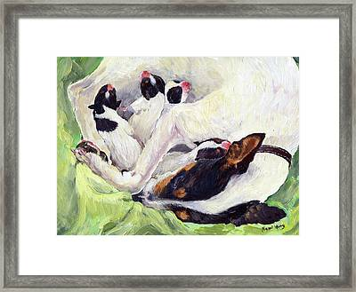 First Day Of Life Framed Print by Margaret Merry