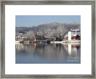 First Day Of Spring Bucks County Playhouse Framed Print