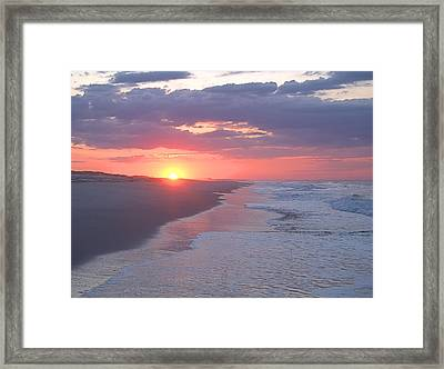 First Daylight Framed Print