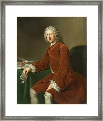 First Earl Of Chatham Framed Print