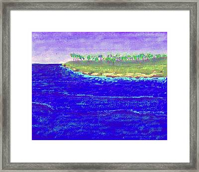 First Experiment Framed Print by Stan Hamilton