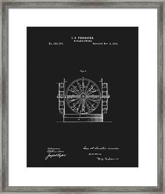 First Ferris Wheel Patent Framed Print