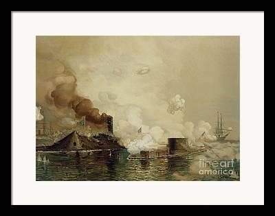 Gunship Framed Prints