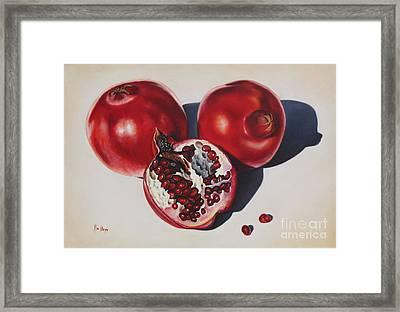 First Fruits I Framed Print