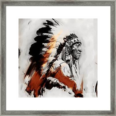 First Generation 02a Framed Print