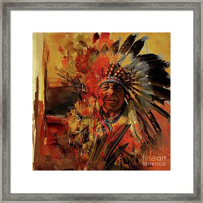 First Generation 07b Framed Print by Gull G