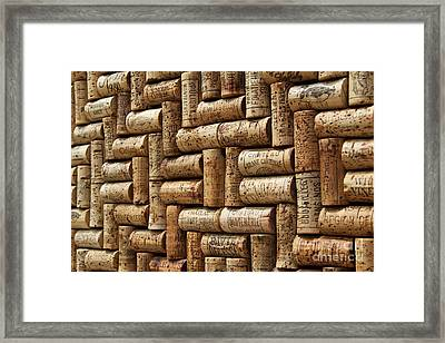 First Growths Of Bordeaux Framed Print by Anthony Jones