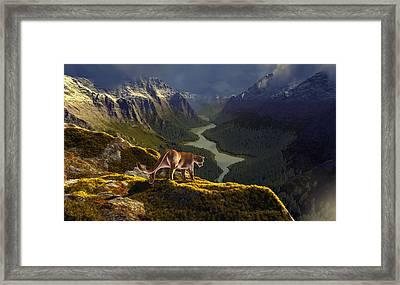 First Interlude Framed Print by Dieter Carlton