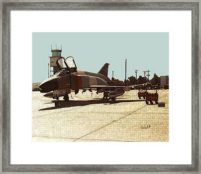 First Jet Framed Print