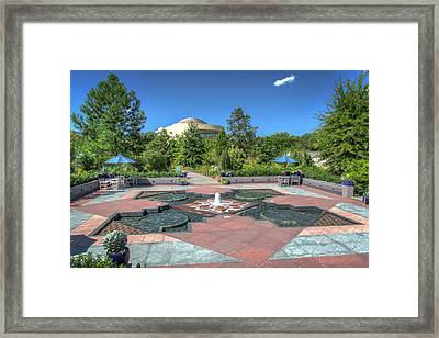 First Ladies Water Garden Framed Print