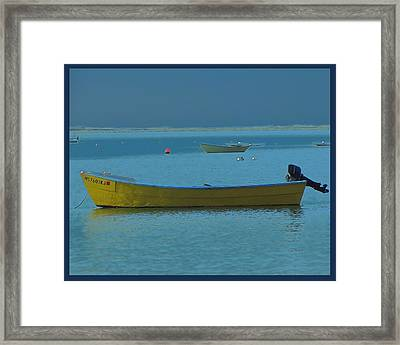 first light - Cape Cod Bay Framed Print by Rene Crystal