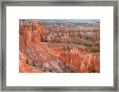 First Light, Bryce Canyon National Park Framed Print