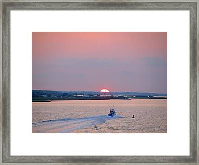 Framed Print featuring the photograph First Light by  Newwwman