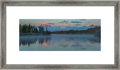 First Light Of Dawn Framed Print
