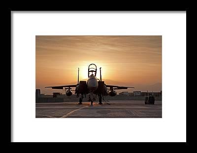 F15e Framed Prints