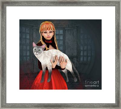 First Love Framed Print by Jutta Maria Pusl