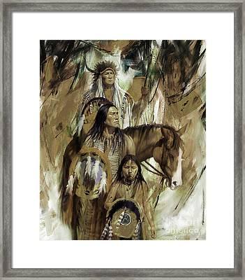 First Nation 67r Framed Print