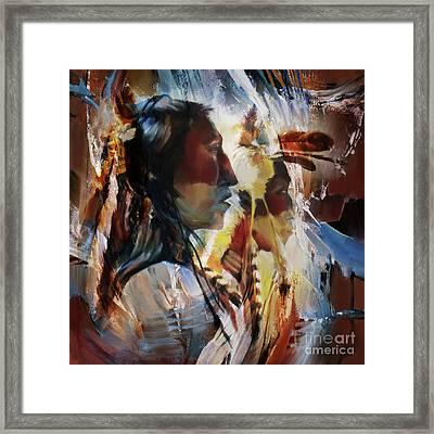 First Nation 67yu Framed Print