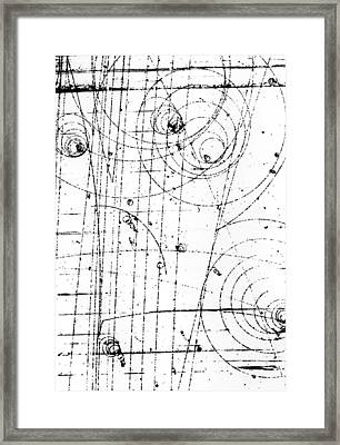 First Observation Of Omega-minus Particle Framed Print by Brookhaven National Laboratory