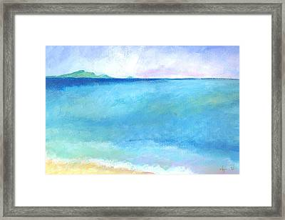 First Of Summer Framed Print by Angela Treat Lyon