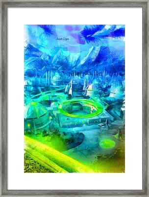 First Order City - Da Framed Print