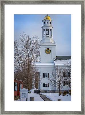 First Parish In Concord, Massachusetts Framed Print
