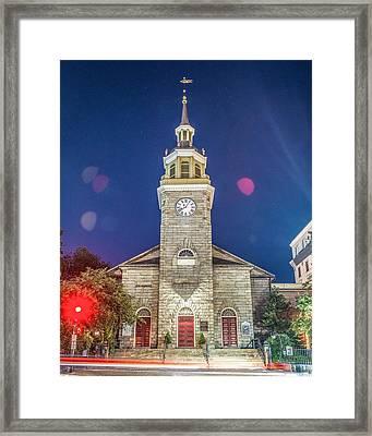 First Parish Framed Print