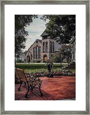 Framed Print featuring the photograph First Presbyterian Church by Kendall McKernon