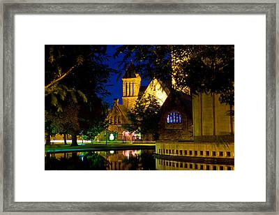 First Presbyterian From Kleinhans Framed Print