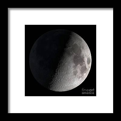 Satellite Image Framed Prints