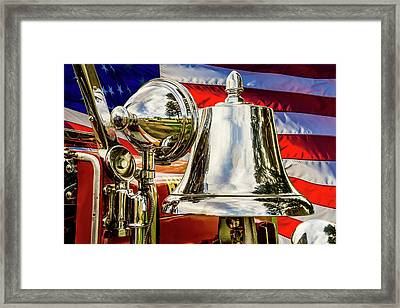 First Responders - Fire Fighters Framed Print