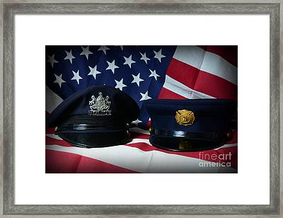 First Responders Framed Print by Paul Ward