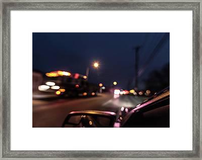 First Responders Framed Print by Randy Scherkenbach