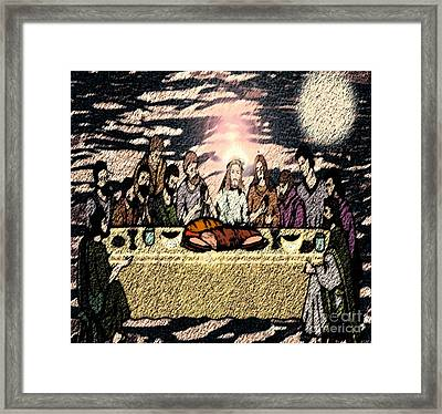 First Sacrament Framed Print