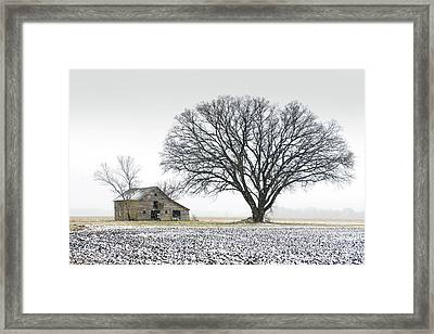 Winter's Approach Framed Print by Christopher McKenzie