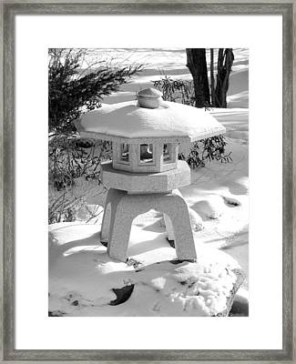 First Snow Framed Print by Douglas Pike
