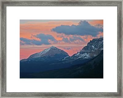 First Snow Fall Framed Print