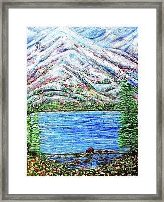 First Snow Framed Print by Viktor Lazarev