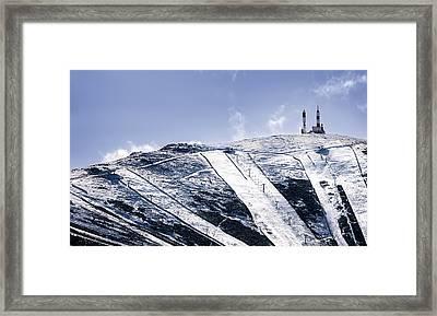 First Snowfalls Framed Print by Hernan Bua