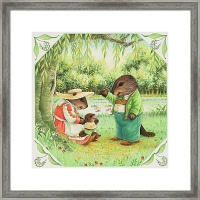 First Steps Framed Print by Lynn Bywaters