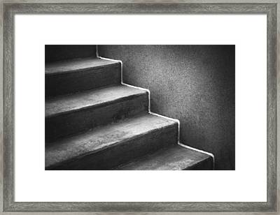 First Steps Toward Framed Print by Scott Norris