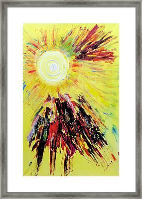 First Sun Framed Print