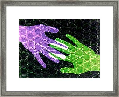 First Touch Framed Print by Gerard Fritz