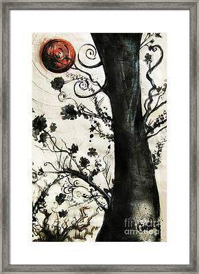 First Tree Framed Print by Carrie Jackson