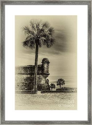 First Watch- Sepia Framed Print by Marvin Spates