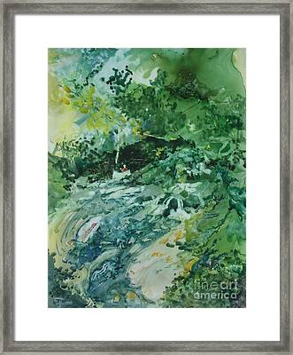 Fish Ahead Framed Print