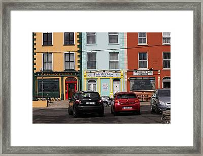 Fish And Chips 4136 Framed Print