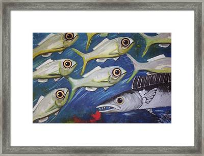 Fish Ball Framed Print