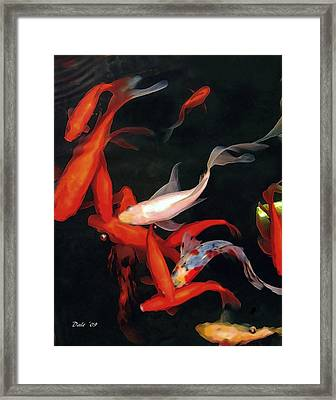 Fish Ballet Framed Print by Dale   Ford
