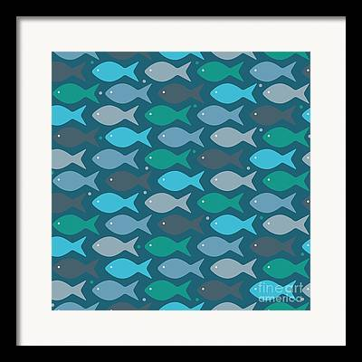 Sea Flower Framed Prints
